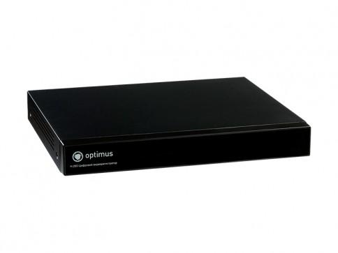 Цифровой гибридный видеорегистратор Optimus AHDR-2016N_H.265