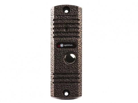 Панель видеодомофона Optimus DSH-E1080 (медь, серебро, черный)