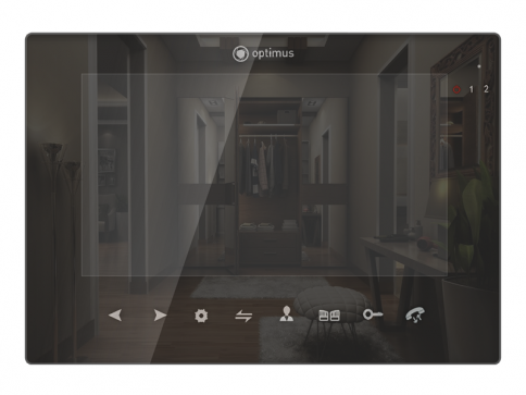 Видеодомофон Optimus VMH-7.5