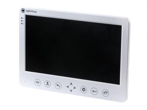 Видеодомофон Optimus VM-10.1 (w)